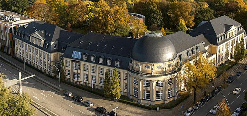 Campusgebäude der Bucerius Law School in Hamburg