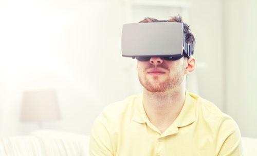 Game Design mit VR Brille