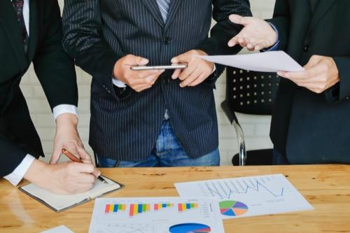 Wirtschaftspsychologen im Meeting